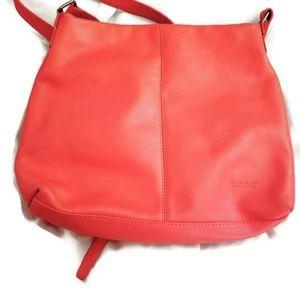 Over 50/% Off Rowallan Grey Leather Shoulder Bag